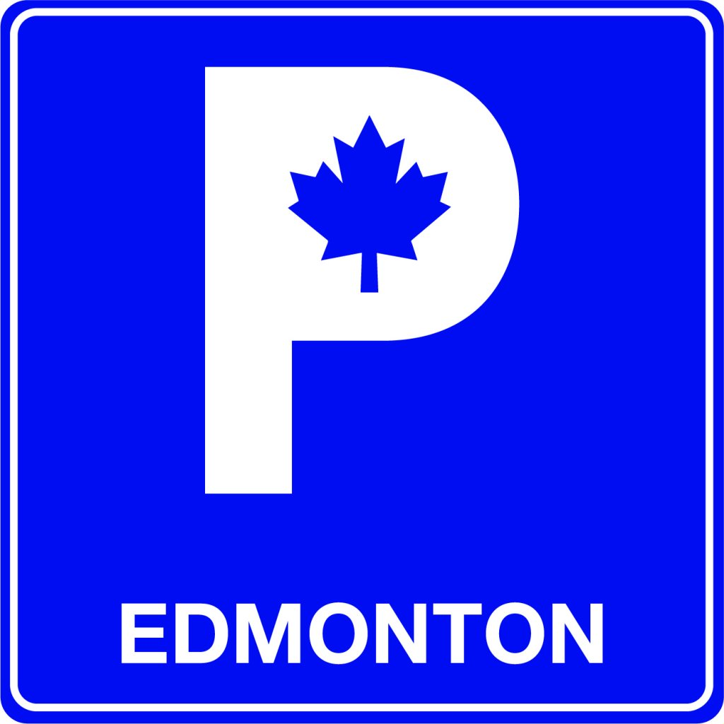 A parking sign