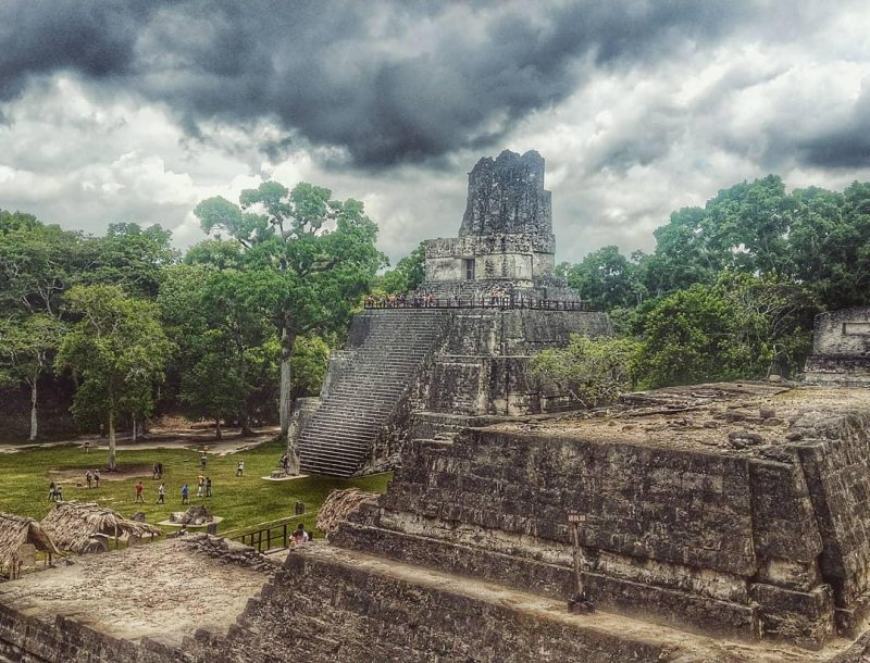 Mayans built entire cities to celebrate themselves and their beliefs. We post to social media sites.